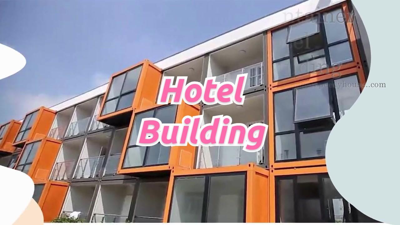 3-Stock-Hotelgebäude