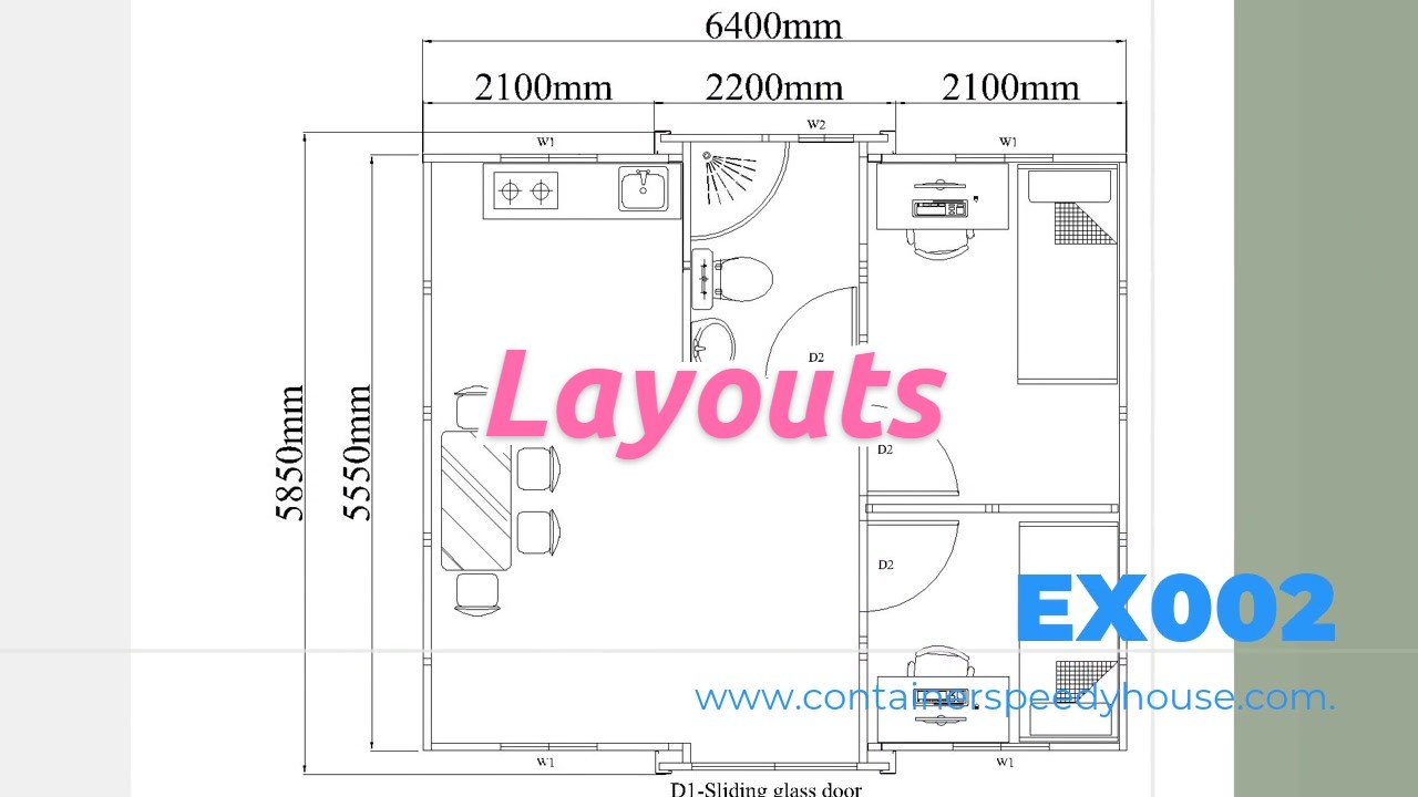 Introto Best Quality  Layouts for Expandable Container Factory