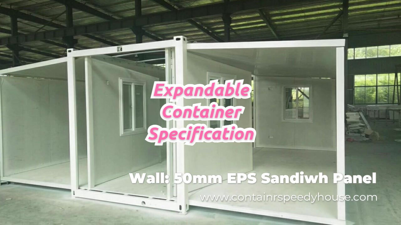 Professional Specification of Expandable Container manufacturers