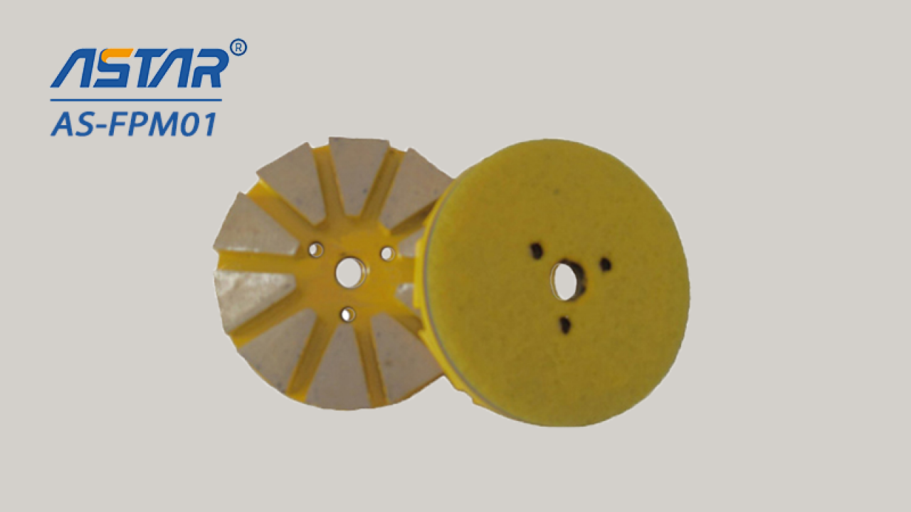 """Diamond Floor Polishing Pads/Disc of Diameter 3"""" and 4"""" With Metal Segments for Grinding Concrete"""