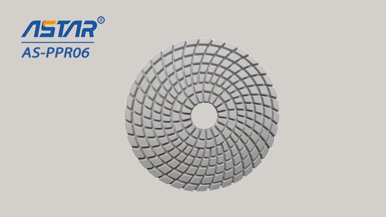 """Diamantové flexibilní lešticí podložky pro suché& Mokré leštění žuly, mramor, beton o průměru 3 """"až 7"""""""