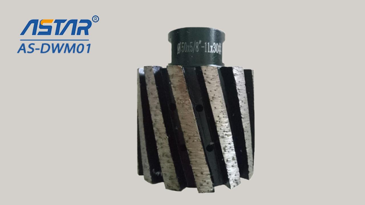 """Diamant-Trommelscheiben des Segments-Typs für den schnellen Schleifgranit und einen harten Stein mit Durchmesser 2 """"3"""" 4 """""""