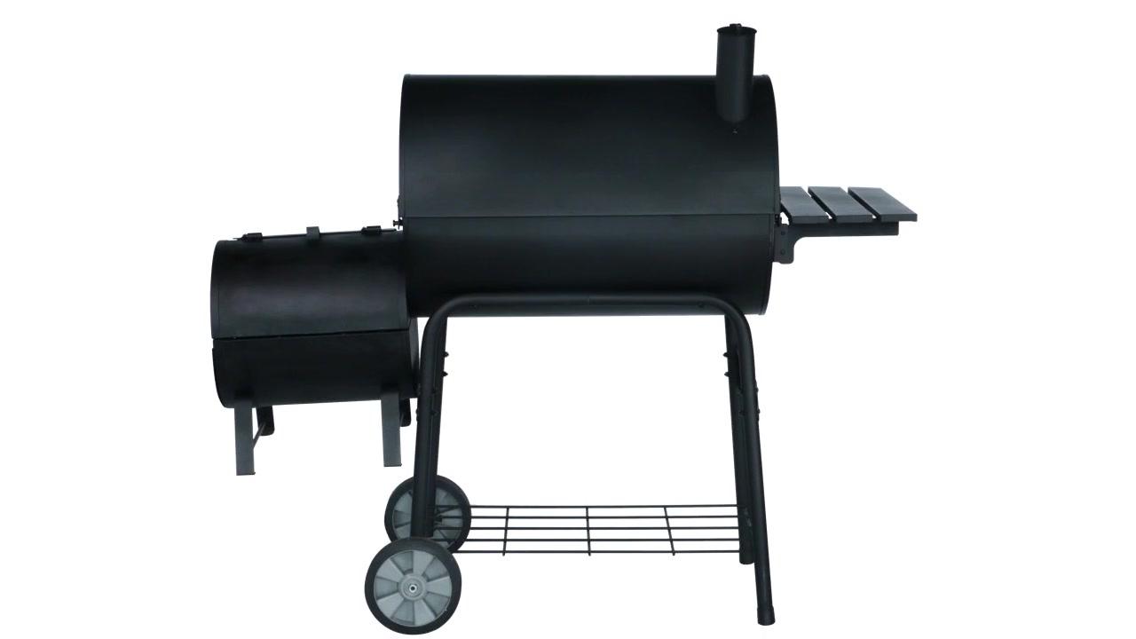 WST-027 nga oven nga oven sa offset nga offset grill
