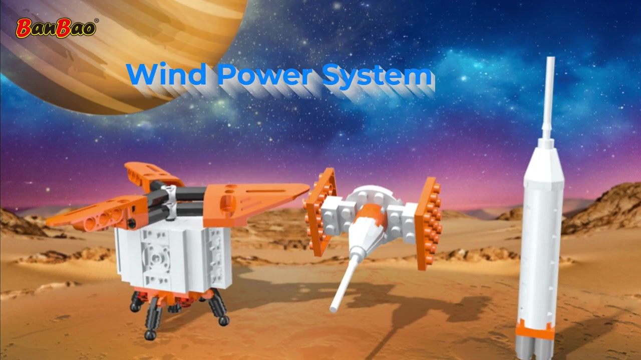 BanBao   High-Quality Building Block Toys Manufacturer   Wind Power System