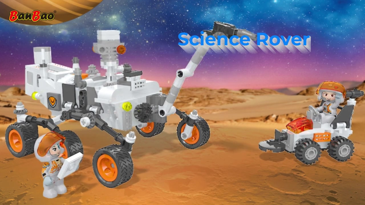 BanBao   High-Quality Building Block Toys Manufacturer   Science Rover