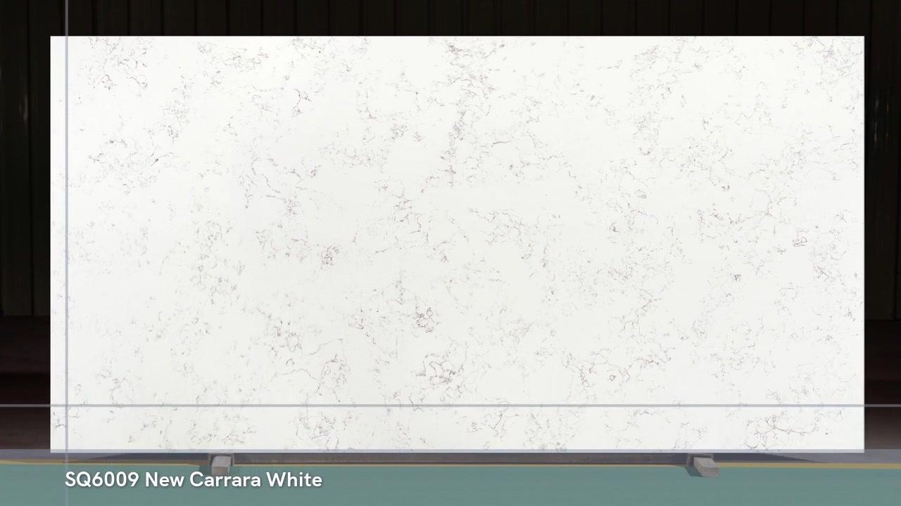 Chine poli 3200X1600 SQ6009 New Carrara White