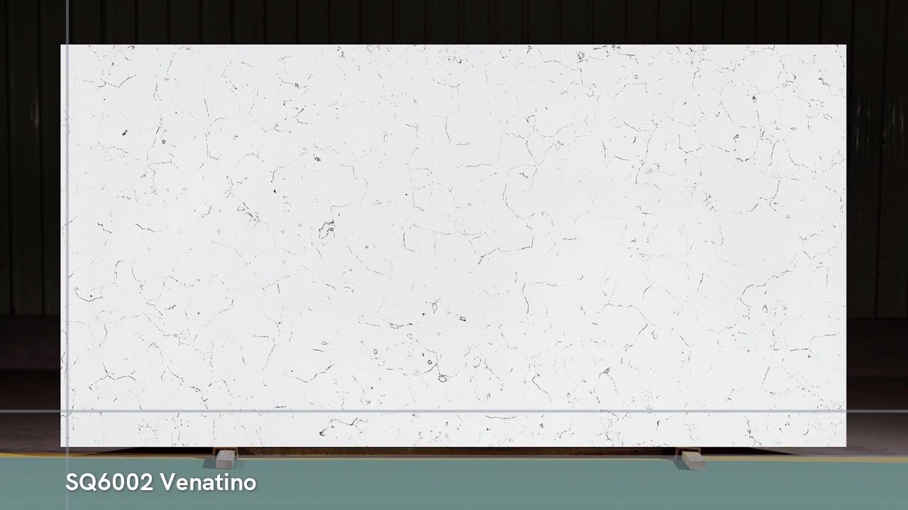 China pulido 3200X1600 Carrara White SQ6001 Virginia