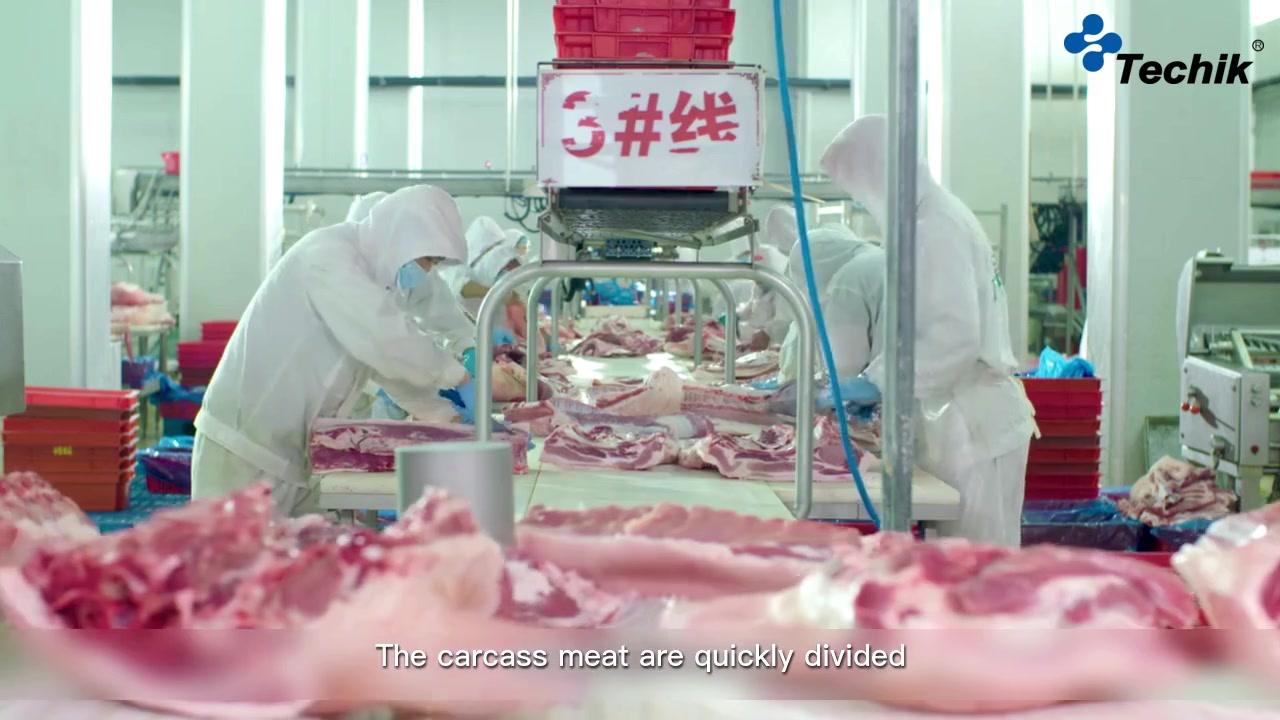 Fleischhühnchen Rindfleisch Röntgeninspektionssystem