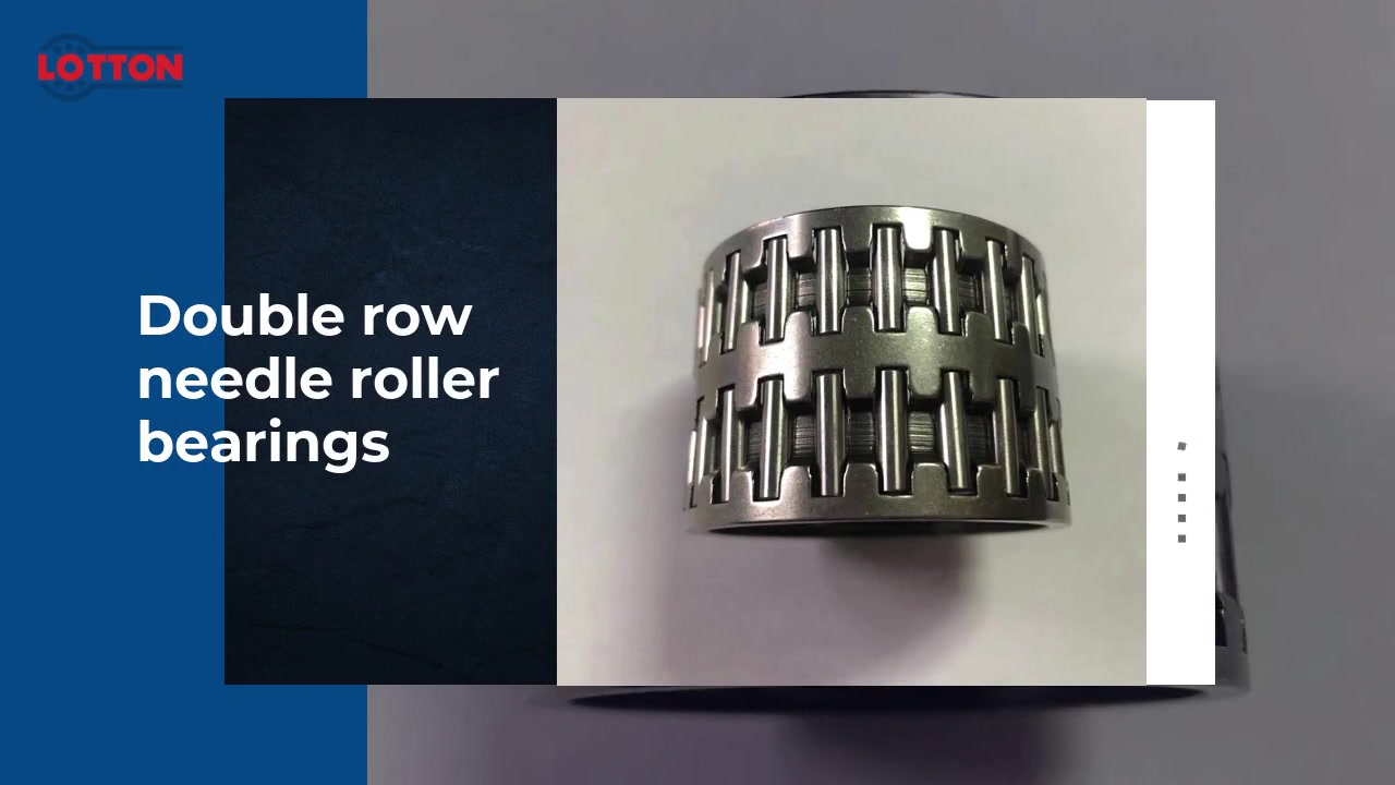 Customized Double row needle roller bearings manufacturers FromChina