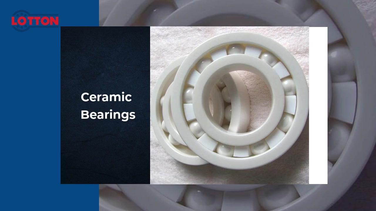 Rolamentos de cerâmica
