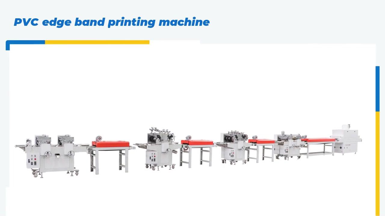 Các nhà sản xuất máy in băng cạnh PVC tùy chỉnh từ Trung Quốc