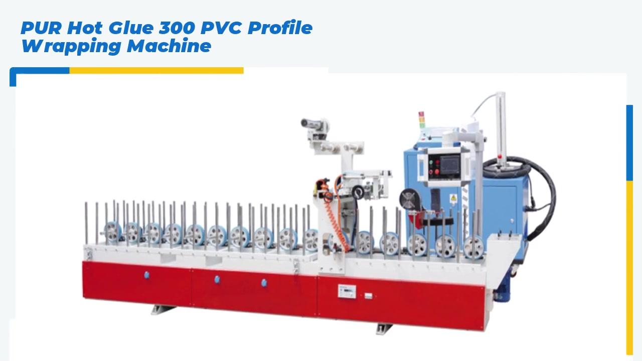 Máquina de envoltura de perfil de PVC PUL HOT HOT 300