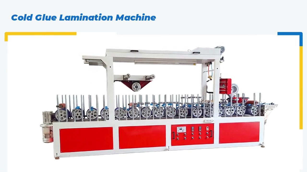 Cold Glue Lamination Machine