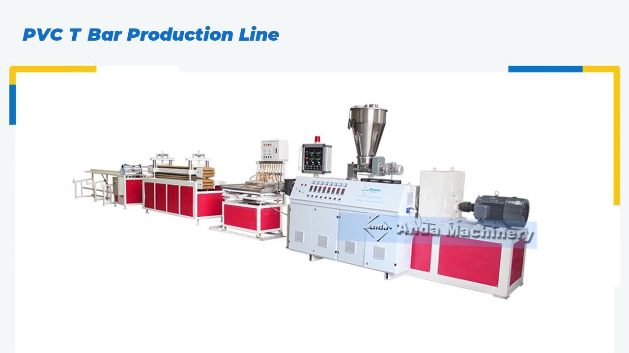 Ligne de production Bar PVC T