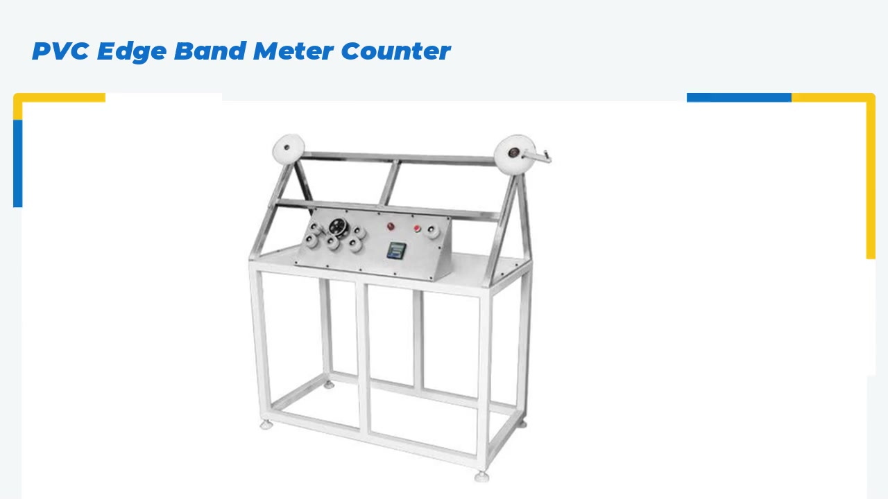 PVC Edge Band Meter Counter