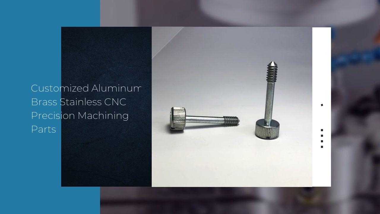 カスタマイズされたアルミニウム真ちゅうステンレスCNC精密機械加工部品