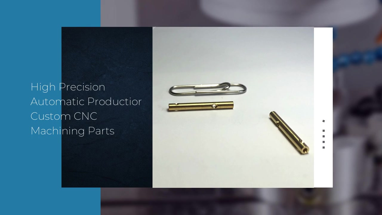 Customized High Brass CNC Precision Machining Parts