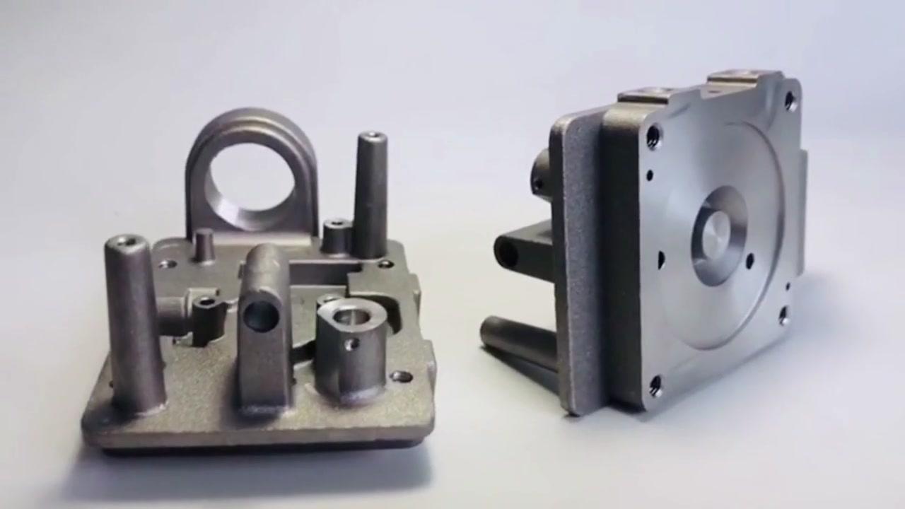 Piezas trabajadas a máquina precisión del CNC de la fundición a presión de zinc de aluminio modificado para requisitos particulares