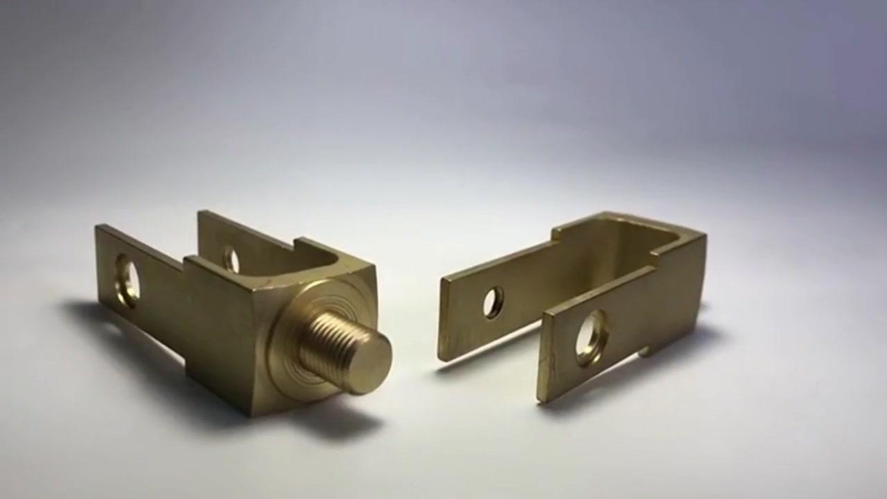 Customized Brass CNC Precision Machining parts