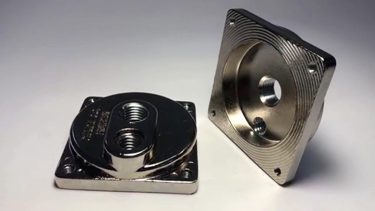 Customized Aluminum Zinc Die Casting CNC Precision Machined parts