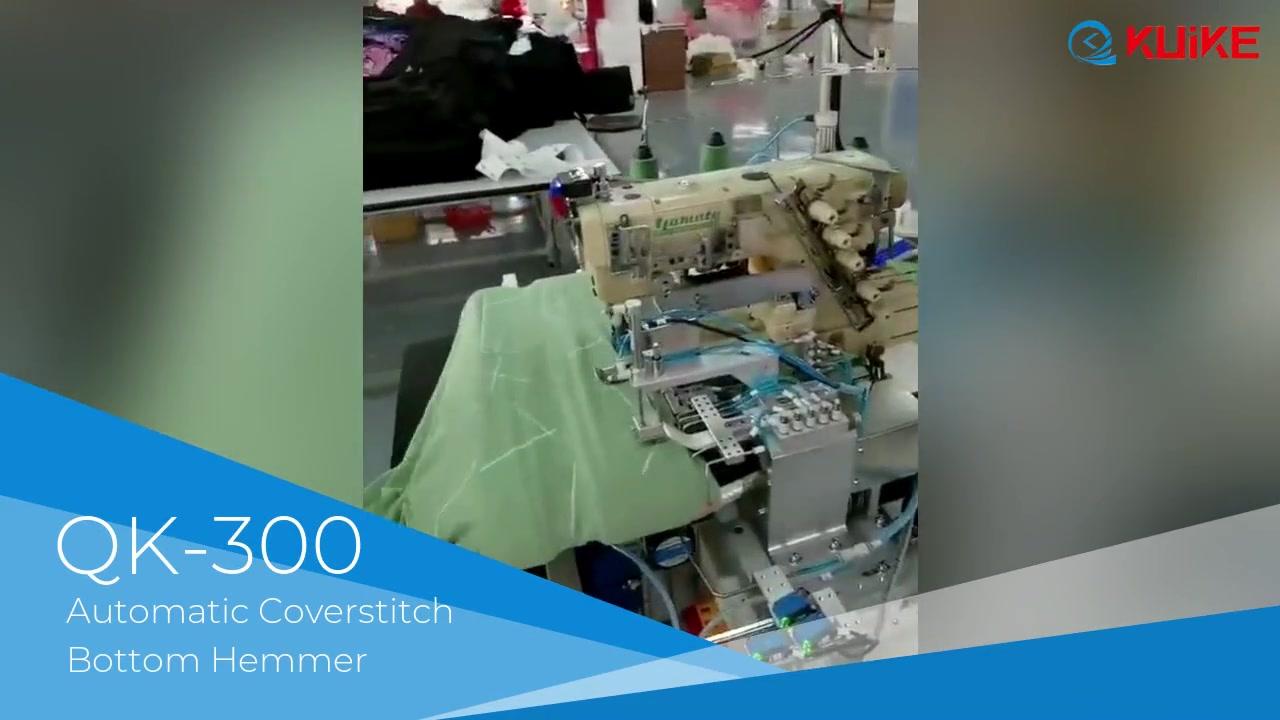 Automatic Coverstitch Bottom Hemmer QK-300
