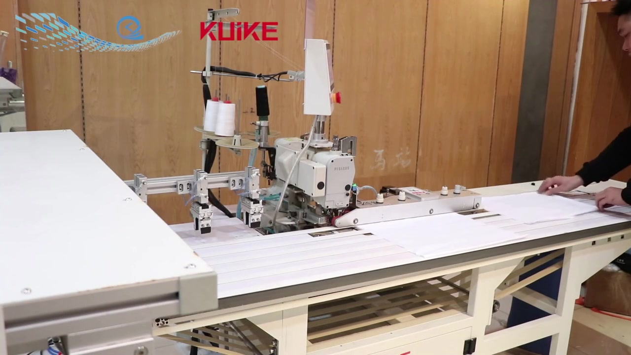 Automatic Two-Needle Hemmer,Sleeves and Bottoms QK-342