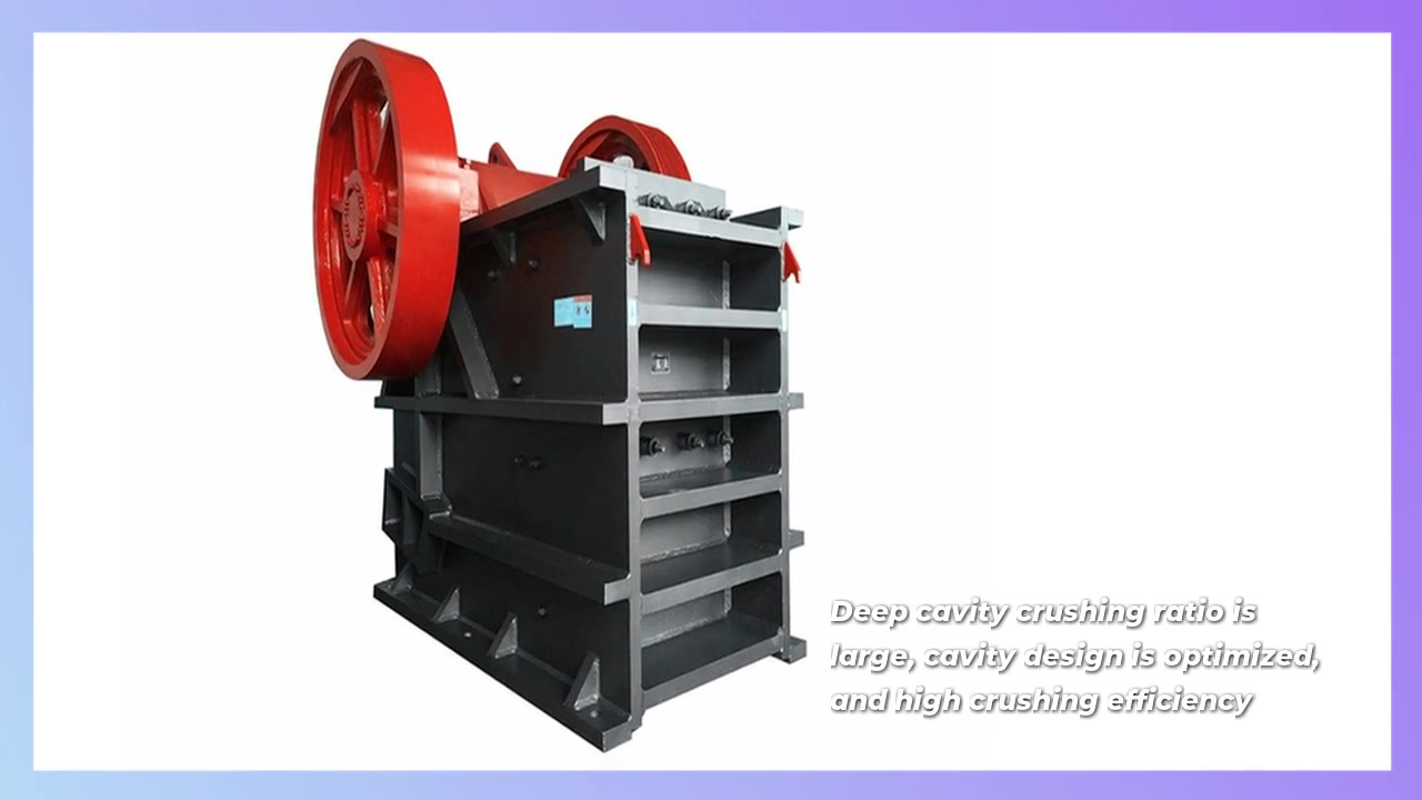 Jaw Crusher Used in Mining Industry with A Great Crushing Effect