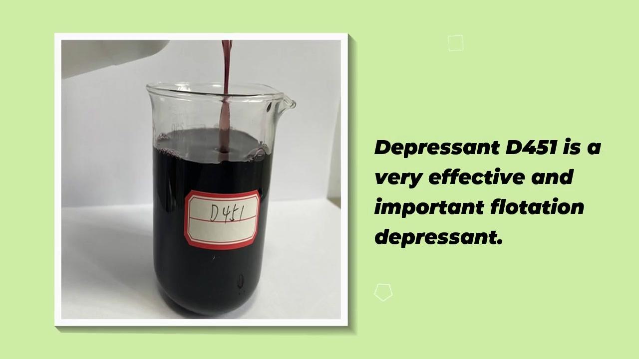 Y&X Patented Special Mining Flotation Reagent Depressant D451