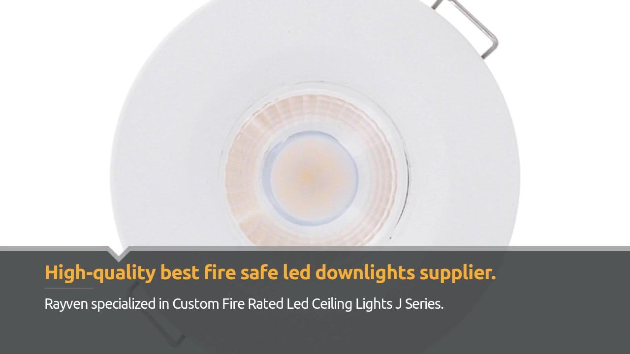 Custom Fire Safe Led Downlights Ceiling Lights J Series