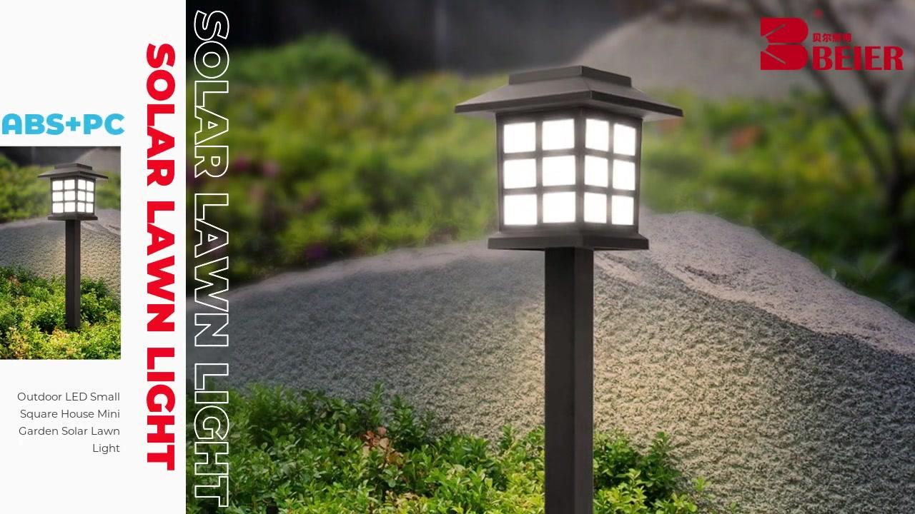LED Outdoor Small Small House House Mini Garden Solar Lawn Light