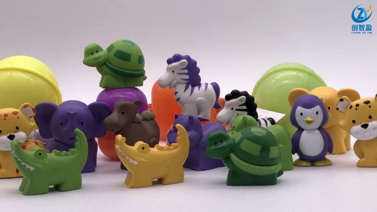Imitation small animal plastic PVC + spray painting