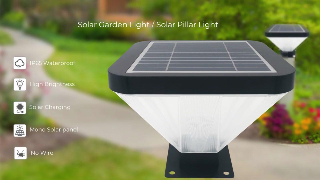 Solar Pillar Lights / Solar Post Cap Lights