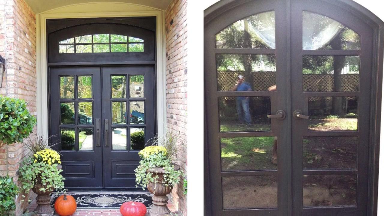 Tym-02 custom processing high grade iron double door