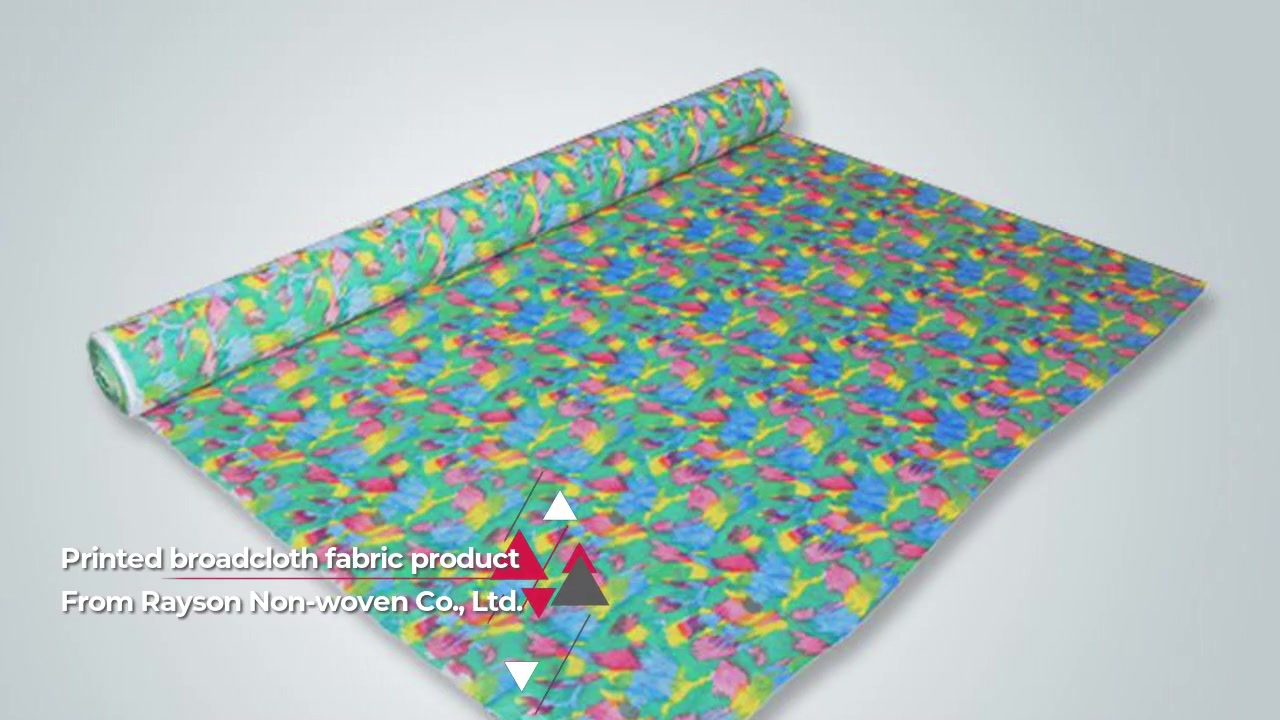 Printed Broadcloth Fabric for Furniture Use