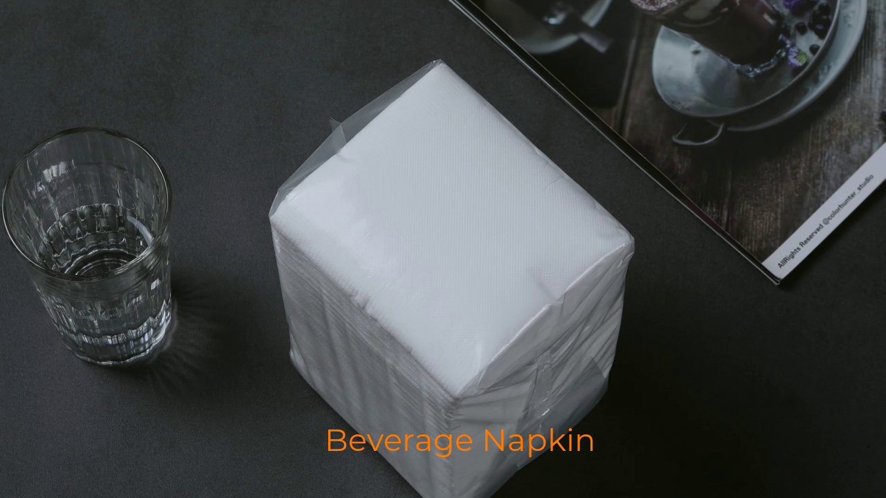 High Quality Full Embossing Beverage Paper Napkin