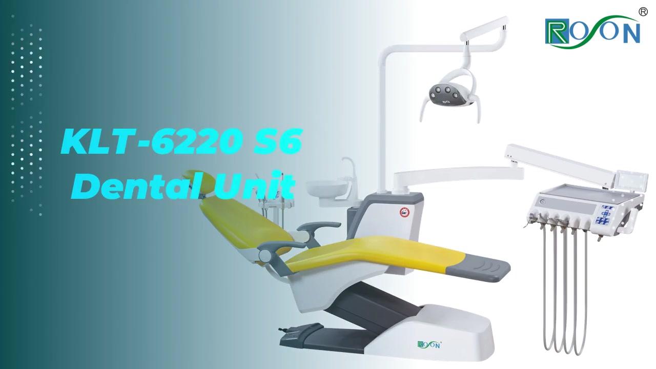Nuova unità dentale KLT-6220 S6 in vendita
