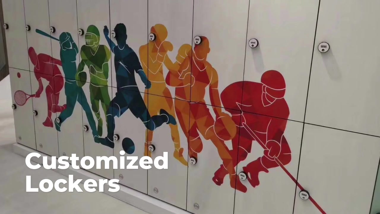Customized Lockers for stadium and sports