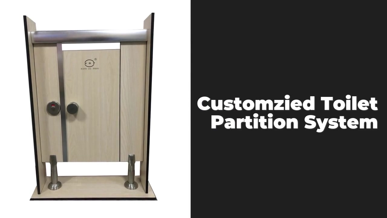 Customzied Toilet Partition Systems