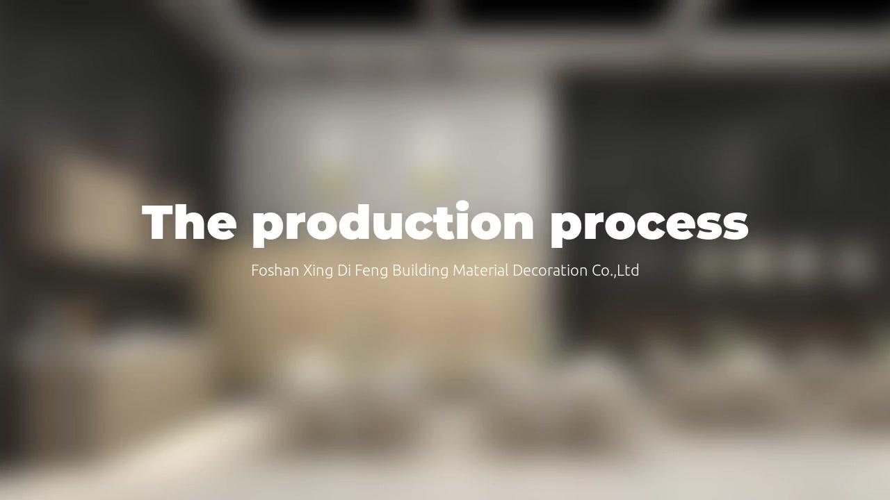 The Locker production process