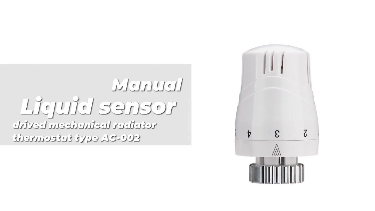 Sensor líquido drivado radiador mecánico Tipo de termostato AC-002