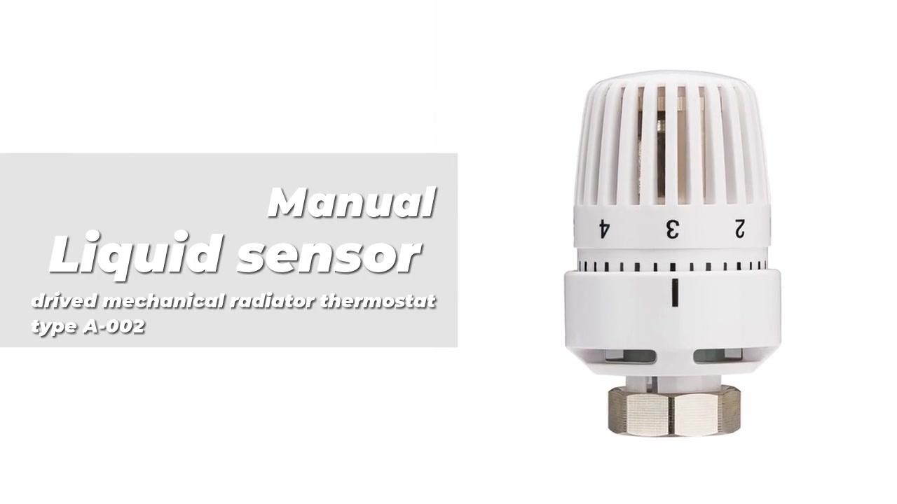 Sensor líquido drivado radiador mecánico Termostato Tipo A-002