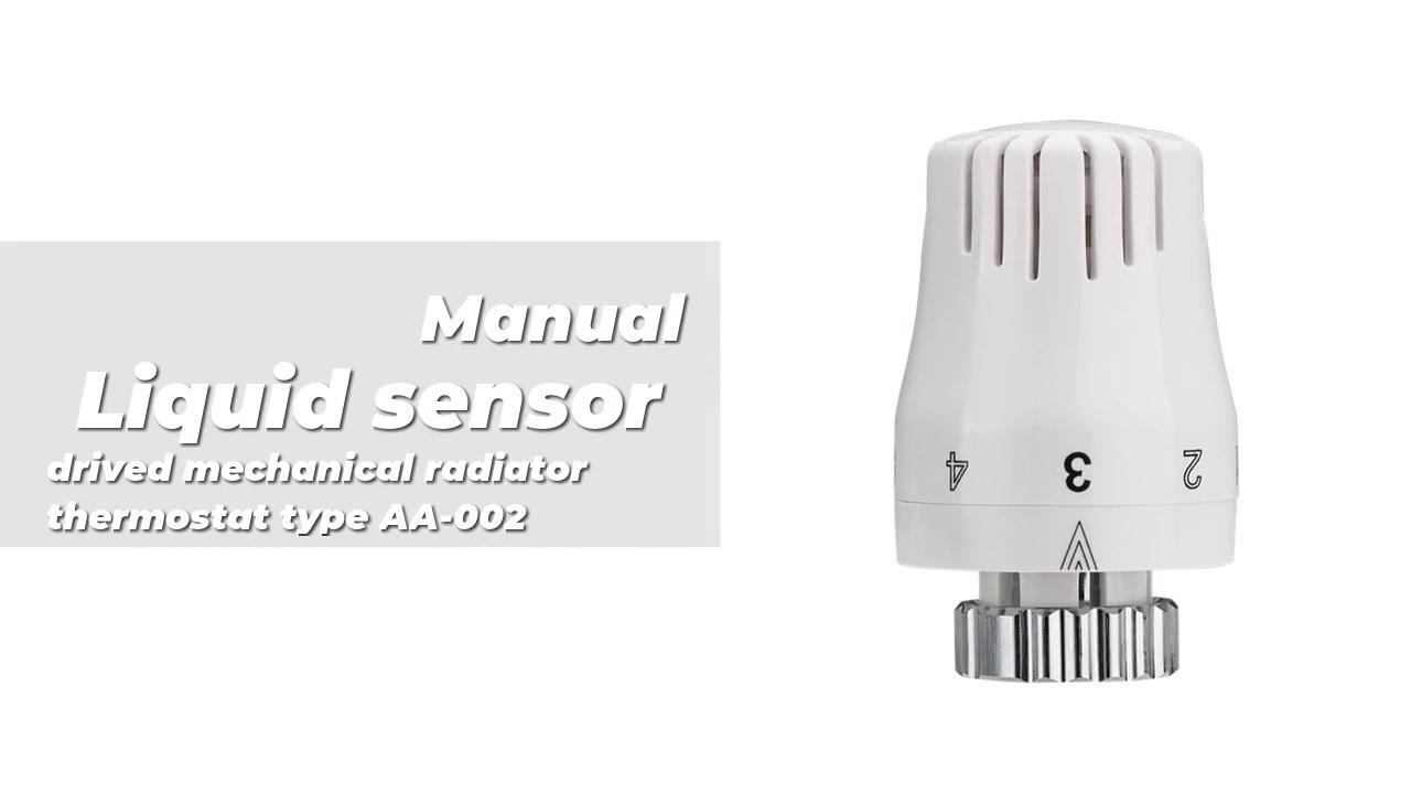 Sensor líquido drivado Radiador mecánico Termostato Tipo AA-002