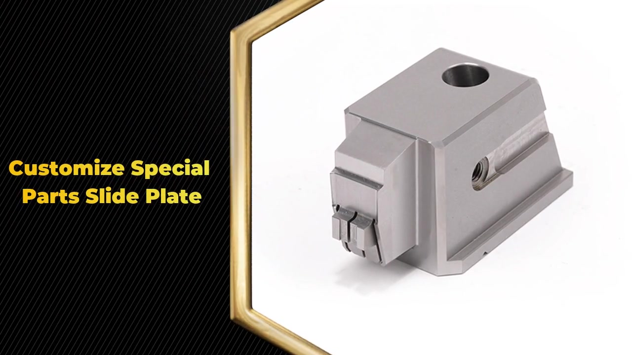 Customizes CNC Machining Precision parts Cotter with angle retainer for plastic injection mold
