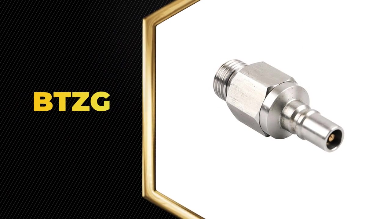 BAITO temperature control straight Hydraulic quick connector BTZG for tool safety device