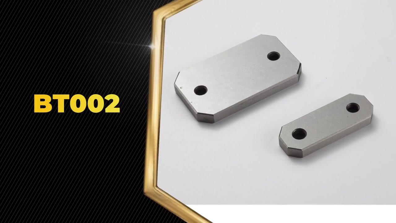 BT002 Opětovné odolné proti odolnému bloku Deska pásek Slide Enter Deska je MIANLY používána v plasturjekční formě.