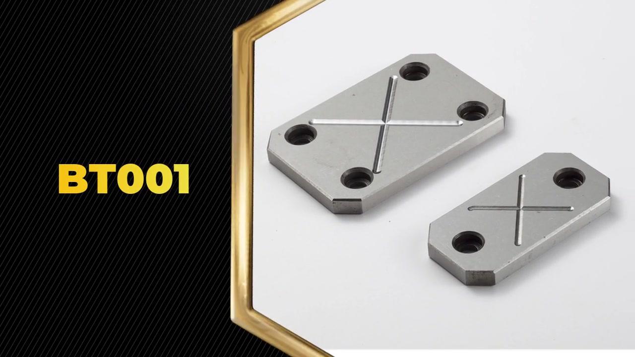 BT001 Odolný vůči odolnému odolnému odolnému bloku Deska Strip Slide Enter Deska je MIANLY používána v plastové vstřikovací formě.