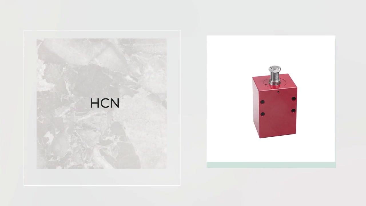 전문 HCN 시리즈 정사각형 유압 실린더 정밀 금형 부품은 사출 금형 제조 업체에 사용됩니다.