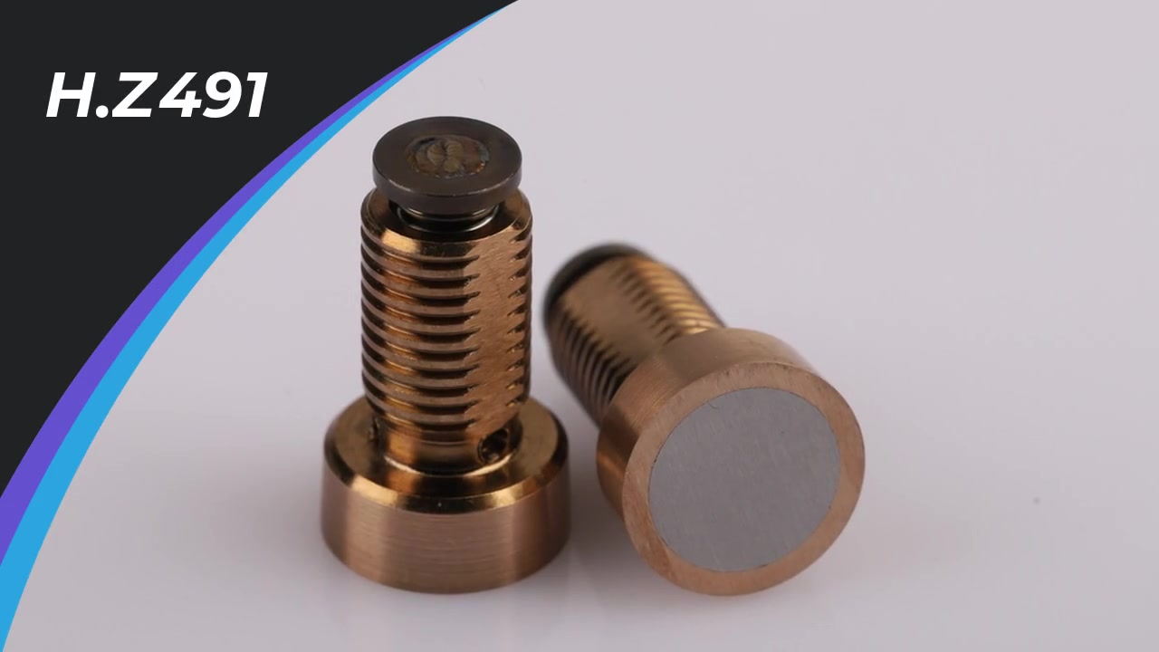 H.Z491 luftventil anvendes hovedsagelig til sprøjtestøber og kompressionsformer.