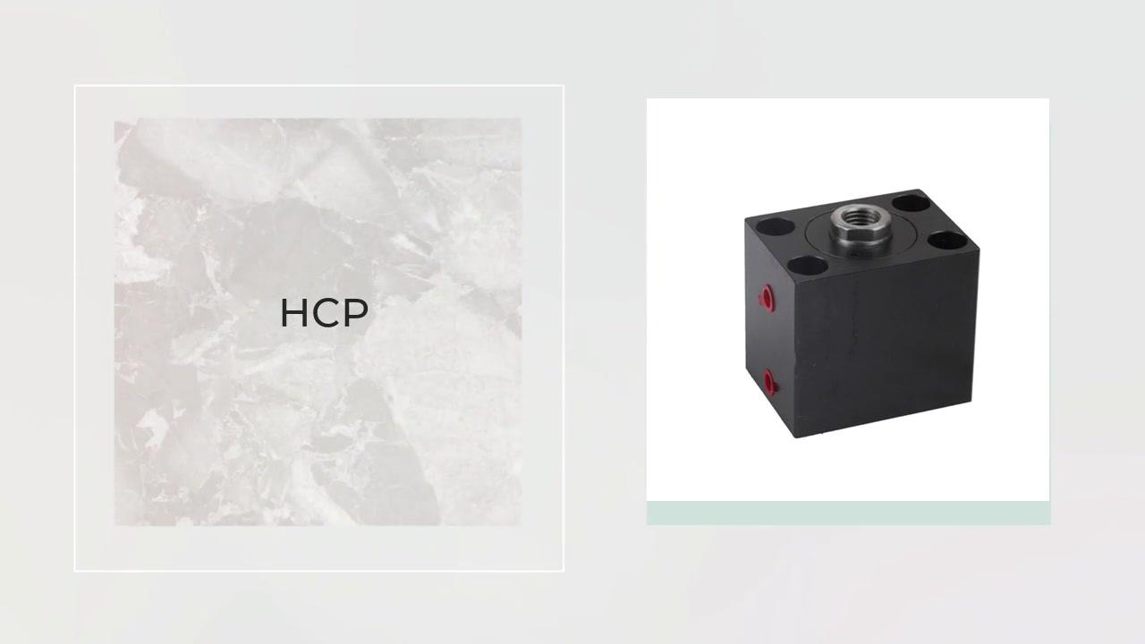전문 HCP 시리즈 스퀘어 유압 실린더 정밀 금형 부품은 사출 금형 제조 업체에 사용됩니다.
