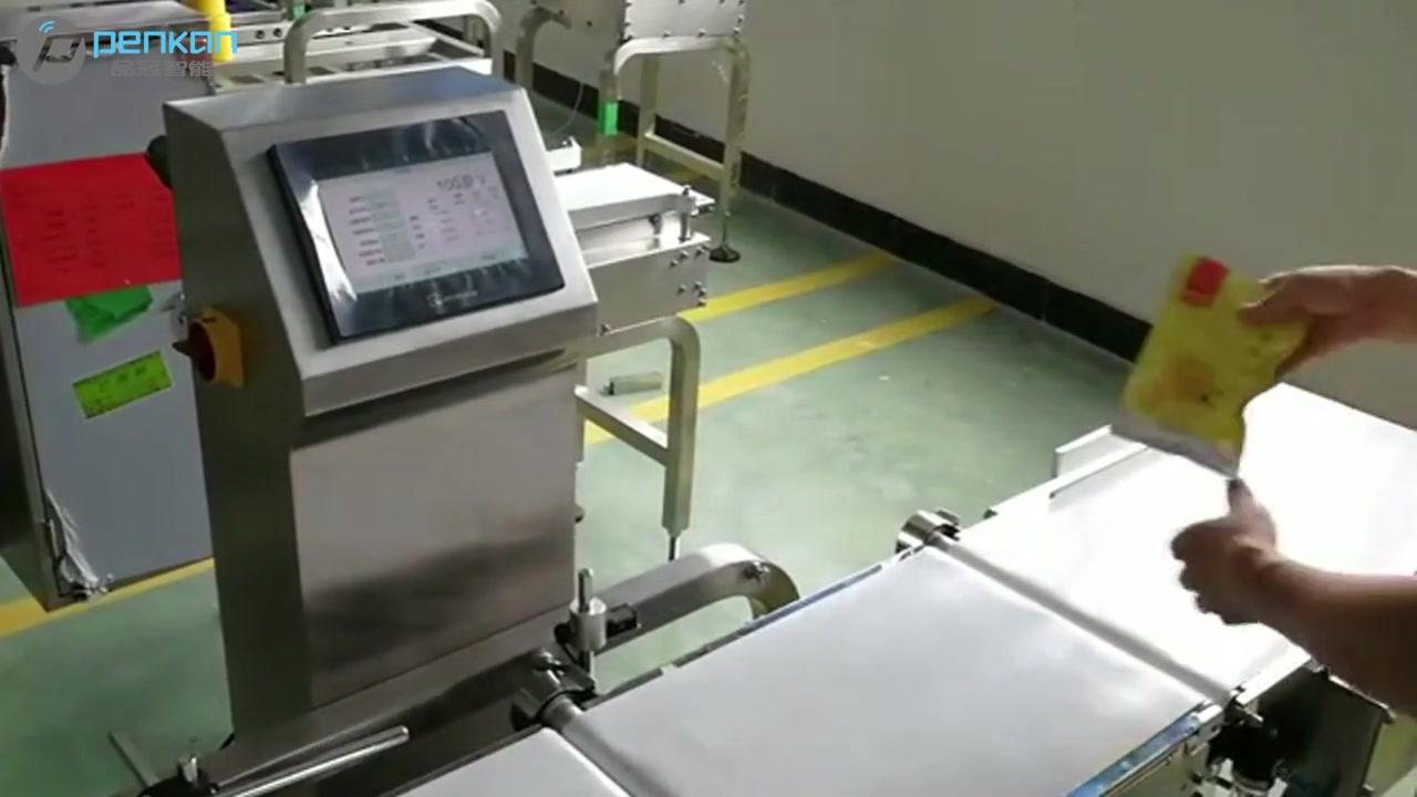 Китай Легко управлять высокоточным автоматическим ленточным конвейером весов весов весов весов - техника PACCURA